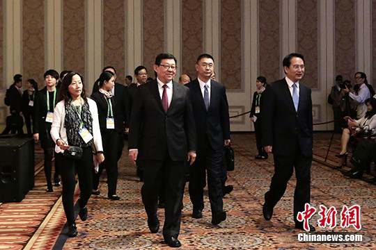 第十二届世界华商高峰会在澳门开幕