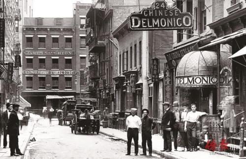 75秒急速赛车是谁开的:100年前纽约街头的华人高档酒楼