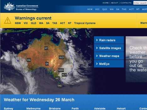 Image result for 澳大利亚气象局